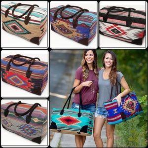 Handbags - Boho Southwestern Travel Bag